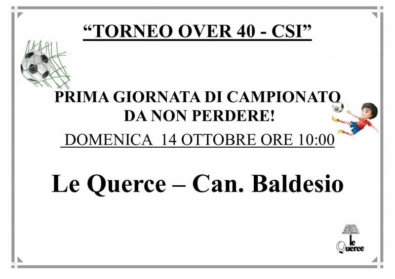 CALCIO OVER 40 2018