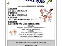CORSI DI TENNIS ESTIVI 2018