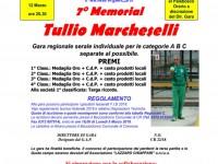 7° MEMORIAL TULLIO MARCHESELLI