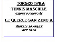 TORNEO TENNIS MASCHILE